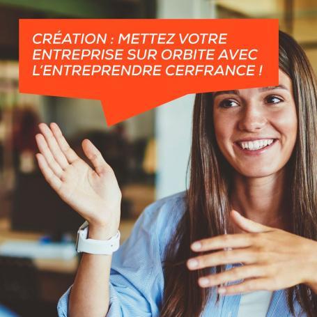 Aide à la Création d'entreprise avec L'Entreprendre Cerfrance
